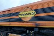 Lokomotivenbeklebung Freightliner