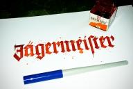 Kalligrafie Jägermeister