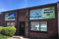 Schilderherstellung Wassersportcenter Fehmarn