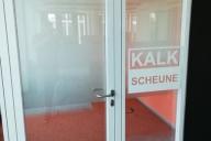 Glasdekorfolie als Sichtschutz in Büroräumen