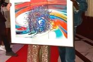 Siebdruck für den Künstler Ismael Kamara